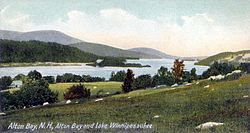 Alton Bay and Lake Winnipesaukee in 1905