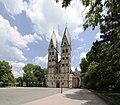 Altstadt Koblenz, Basilika St. Kastor (Westseite).jpg