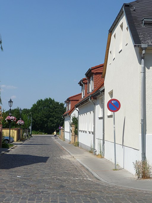 Altstadt Teltow, Badstraße - panoramio