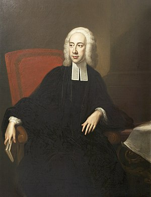 Alured Clarke (priest) - Alured Clarke, 1741 portrait by James Wills