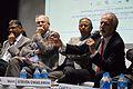 Amareswar Galla - Hans-Martin Hinz - Ganga Singh Rautela - Martin Eugen Roth - Kolkata 2014-02-14 9303.JPG