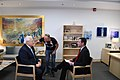 Ambassador Friedman interviews to Ch10 and Ch 2 (42255603102).jpg