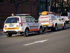 Ambulance Service NSW Subaru Forester ^ Ford Ranger - Flickr - Highway Patrol Images.jpg