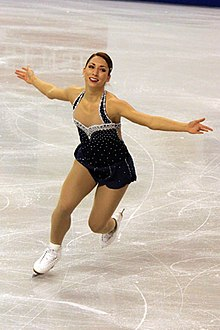 Amelie Lacoste at 2009 Skate Canada (2).jpg