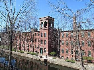 National Register of Historic Places listings in Hampden County, Massachusetts - Image: Ames Privilege, Chicopee MA