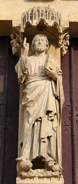 File:Amiens Portail Christ.jpg