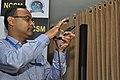 Amitava Akuli Demonstrates CDAC Sufal Bangla Agri-price IVR Mobile Application - NCSM - Kolkata 2018-04-23 0319.JPG