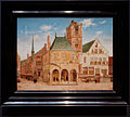 Amsterdam - Rijksmuseum 1885 - The Gallery of Honour (1st Floor) - The Old Town Hall at Amsterdam 1657 by Pieter Jansz. Saenredam.jpg