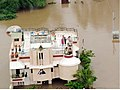 An aerial view taken from the IAF relief Helicopter of the flood in Gujarat on July 2, 2005.jpg
