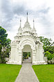 Ancient gate of Suandok temple , Chiangmai , Thailand.jpg