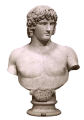 Anderson, James (1813-1877), Antinoo ai Musei vaticani, ca. 1860.png