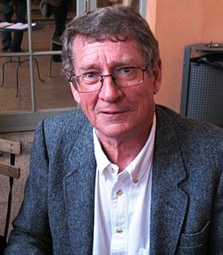 André Brink in Lyon, France, June 2007