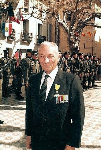 Combatant's Cross - André Daugnac, a recipient of the Combattant's Cross