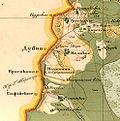 Фрагмент карты Тверской губернии
