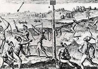 Anejodi - Anejodi, illustrated by the explorer Jacques le Moyne in 1591