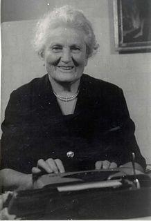 Angela Piskernik Botanist and conservationist