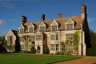 Anglesey Abbey - South facing front of the house