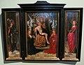 Anonimo fiammingo, trittico della trinità e santi, xvi sec..JPG