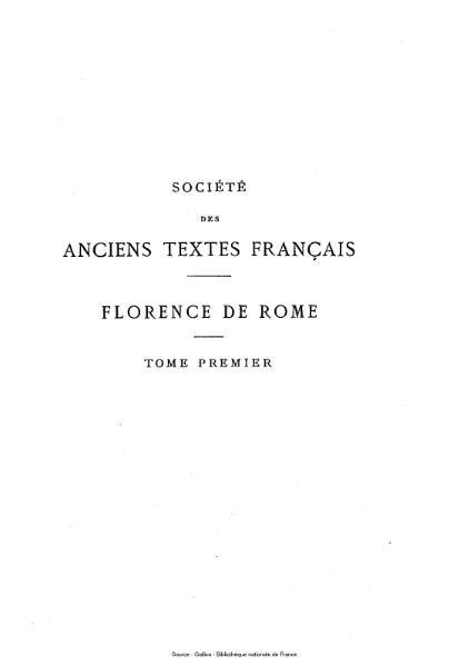File:Anonyme - Florence de Rome, tome 1.djvu