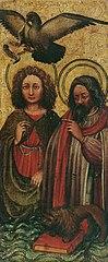 Die Evangelisten Johannes und Markus