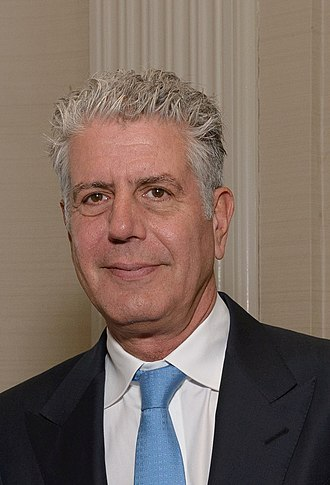 The Culinary Institute of America - Anthony Bourdain, chef, author, television host