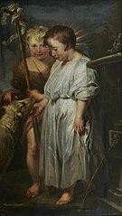 The Christ Child, Saint John and the Lamb