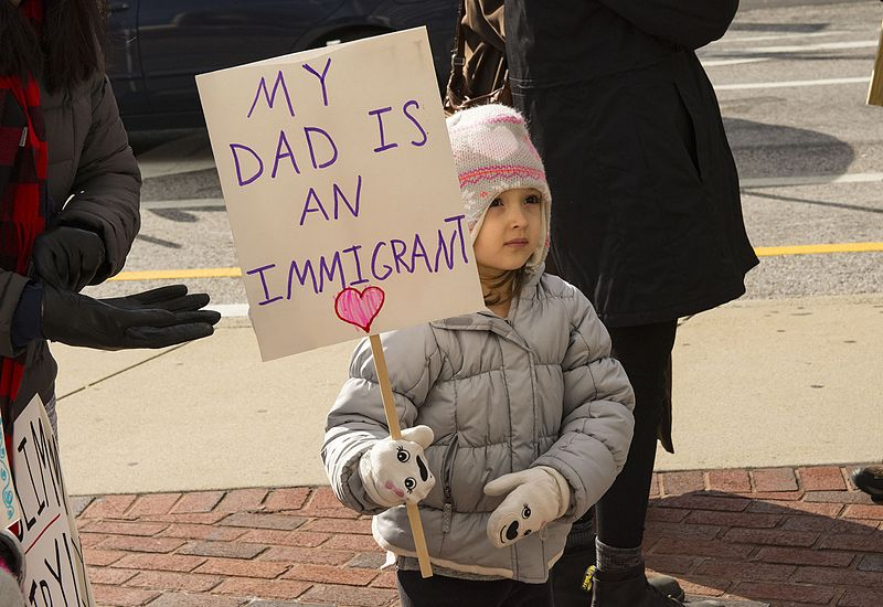 File:Anti Trump immigration protest in Baltimore DSC 6585 (32557779976).jpg