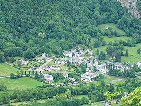Le village d'Antignac.