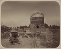 Antiquities of Samarkand. Mausoleum of the Saint Sheikh Nuredin Basir Kutbi-Chaardakhum. General View from the South WDL3737.png