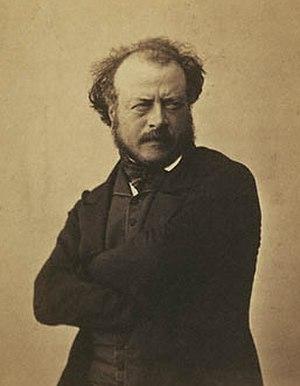 Antoine-Augustin Préault - Auguste Préault by Nadar