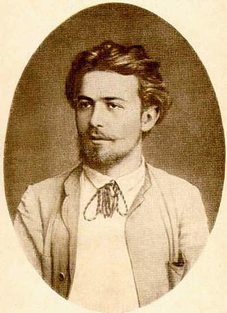 Anton Chekhov - Portrait of young Chekhov in country clothes