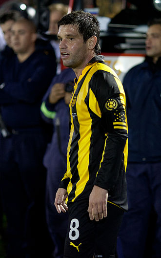 Antonio Pacheco D'Agosti - Pacheco in action for Peñarol in 2011