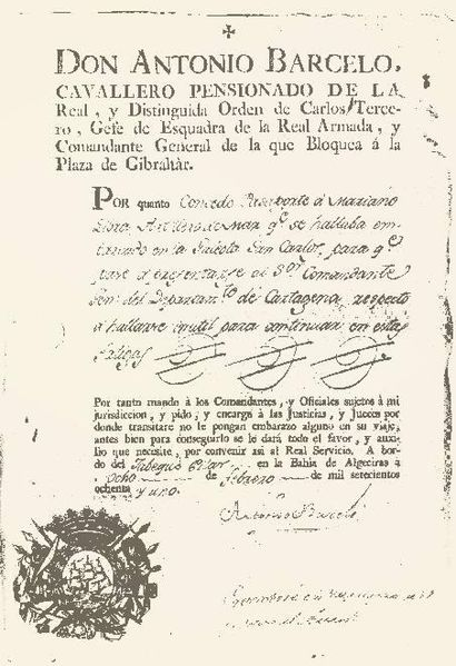 File:Antonio barcelo passport 1781.JPG