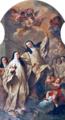 Aparição da Beata Sancha à Beata Teresa e Beata Mafalda (c. 1735-40) - André Gonçalves (Igreja do Menino Deus, Lisboa).png