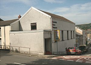 Trecynon - Image: Apostolic Church Trecynon by Aberdare Blog