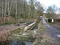 Aqueduct under repair - geograph.org.uk - 1735684.jpg
