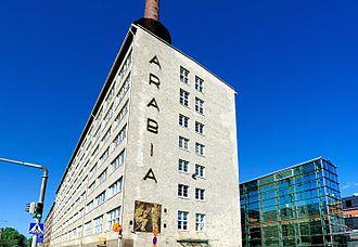 Arabianranta - Arabia Factory Building
