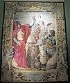 Arazzeria medicea su cartone di francesco salviati, sacrificio di alessandro, post 1542, OA7327, 01.JPG