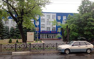 ArcelorMittal Kryvyi Rih Ukraines largest steel company, located in Kryvyi Rih