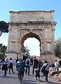 Arch of Titus - Rome, Italy - DSC01437.jpg