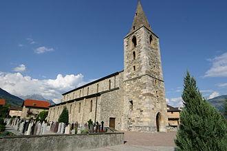 Ardon, Switzerland - Ardon village church