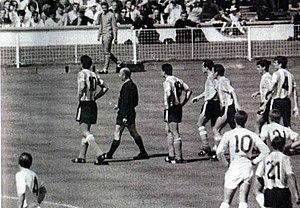 Antonio Rattín - Image: Argentina 1966 rattin