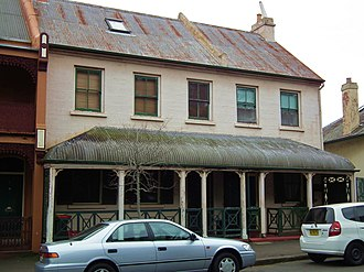 46-48 Argyle Place, Millers Point - 46-48 Argyle Place, pictured in 2012