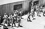 Arledge Field - Flight Cadets outside Mess Hall.jpg