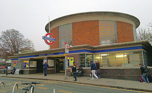 Arnos Grove tube station - Station entrance