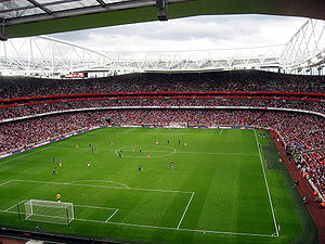 Emirates Cup - Image: Arsenal vs Real Madrid bigger view