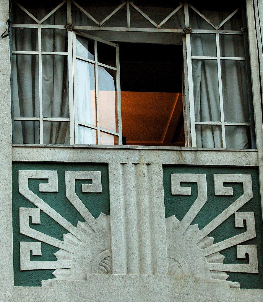 Fenêtre art deco à Lisbonne - Photo de Pedro Ribeiro Simões