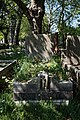Art Deco grave City of London Cemetery Carleton 1935 darker cooler.jpg