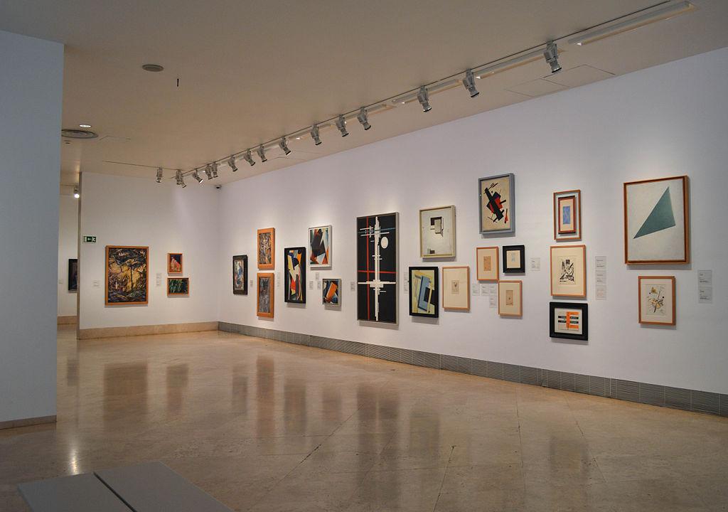 Arte moderno en el museo Thyssen