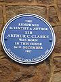Arthur C. Clarke blue plaque.jpg